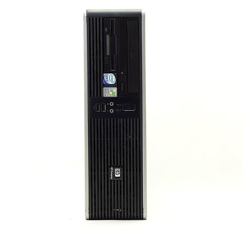 Compaq dc5700 SFF(Core2Duo E6300 1.86GHz/2GB/160GB/DVD-ROM/Windows7)