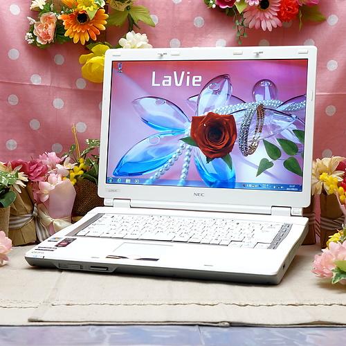 LaVie LL370/R (Athlon64 X2 TK-55 1.80GHz/2GB/160GB/DVDマルチ/Windows7Pro32bit/15.4インチ/無線LAN)