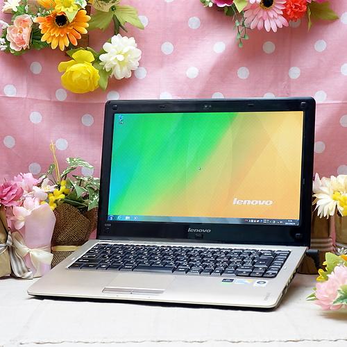 IdeaPad U350 (Core2Duo U9400 1.40GHz/4GB/250GB/ドライブレス/Windows7Pro32bit/13.3インチ/無線LAN)