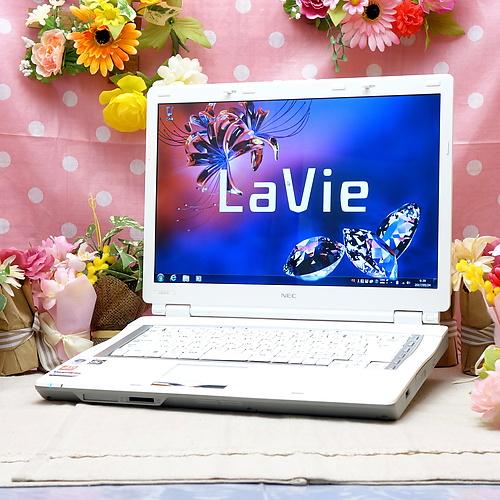 LaVie PC-GL572R5AB(Athlon 64x2 1.90GHz/2GB/120GB/DVDマルチ/Windows7Pro32bit/15.4インチ/外付無線LAN)
