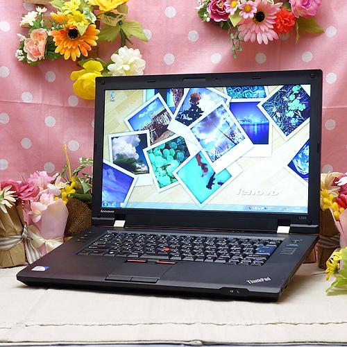 ThinkPad L520 (Celeron DualCore B800 1.50GHz/2GB/160GB/DVD-ROMWindows7Pro32bit/15.6インチ/無線LAN)
