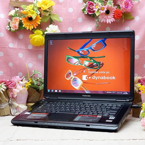 dynabook EX/34JKS (Celeron 900 2.20GHz/2GB/250GB/DVDマルチ/Windows7Pro32bit/15.4インチ/無線LAN)
