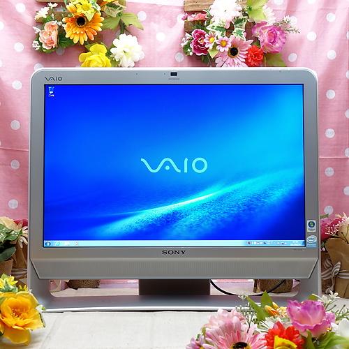 VAIO VGC-JS50B (Pentium DualCore E2200 2.20GHz/3GB/320GB/DVDマルチ/Windows7Pro32bit)