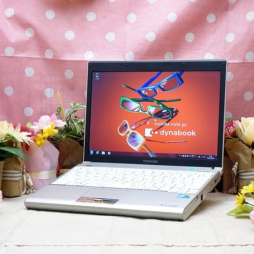 dynabook SJ140E/2W (Core2Duo 1.40GHz/2GB/160GB/ドライブレス/Windows7Pro32bit/12.1インチ/無線LAN)