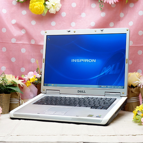 Inspiron1501 (Turion64 MK-36 2.00GHz/2GB/80GB/DVDコンボ/Windows7Pro32bit/15.4インチ/外付無線LAN)