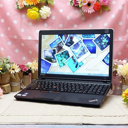 ThinkPad E520 (CeleronDualCore 1.50GHz/4GB/320GB/DVDマルチ/Windows7Pro64bit/15.6インチ/無線LAN)