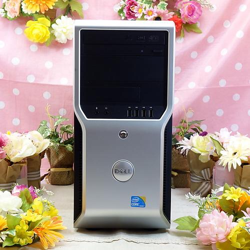 PRECISION T1500 (Core-i5 750 2.67GHz/4GB/320GB/DVDマルチ/Windows7Pro64bit/NVIDIA Quadro FX580)