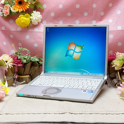 Let's Note CF-Y8(Core2Duo SU9400 1.40GHz/2GB/160GB/ドライブレス/Windows7Pro32bit/14.1インチ/無線LAN)