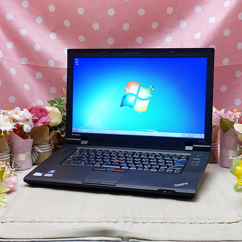 ThinkPad SL510(CeleronDualCore 2.10GHz/2GB/160GB/DVDマルチ/Windows7Pro32bit/15.6インチ/無線LAN)