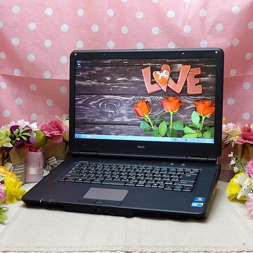 VERSAPRO VX-B (Core-i3 M370 2.40GHz/3GB/320GB/DVDマルチ/Windows7Pro32bit/15.6インチ/外付け無線LAN)