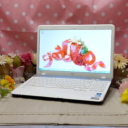 LaVie LS150/F (CeleronDualCore B800 2.00GHz/4GB/320GB/DVDマルチ/Windows7Pro64bit/15.6インチ/無線LAN)