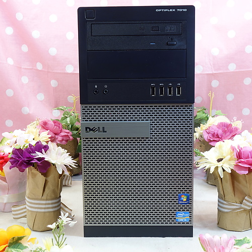 OptiPlex 7010 MT (Core-i5 3470 3.20GHz/4GB/500GB/DVDマルチ/Windows10 64bit)