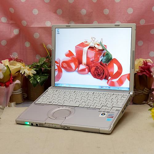 Let's Note CF-W7 (Core2Duo U7600 1.20GHz/3GB/250GB/DVDマルチ/Windows7Pro32bit/12.1インチ/無線LAN)