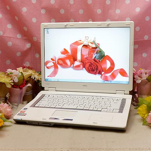 LaVie LL550/K (Sempron 3400+ 1.80GHz/3GB/320GB/DVDマルチ/Windows7Pro32bit/15.4インチ/無線LAN)