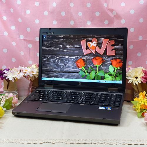 ProBook 6560b (CeleronDualCore 1.90GHz/2GB/320GB/DVD-ROM/Windows7Pro32bit/15.6インチ/外付無線LAN)