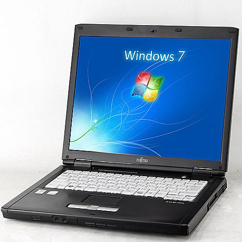 LIFEBOOK FMV-C8240[B�i](Core2Duo 1.66GHz/2GB/SSD128GB/DVD�R���{/Windows7/15�C���`XGA/����LAN)