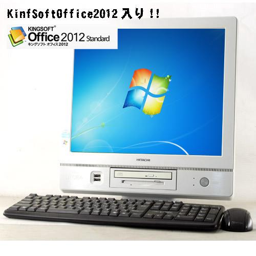 Flora 310w AX1 (Pentium4 3.2GHz/2GB/40GB/CD/Windows7/17�C���`TFT)